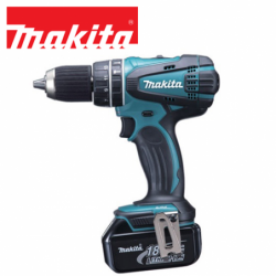 Cordless screwdriver 18V, 50 / 36 Nm / MAKITA DHP456RFJ /