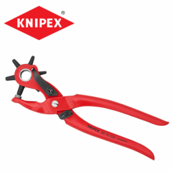 Revolving punch pliers 220 mm / KNIPEX 9070220 /
