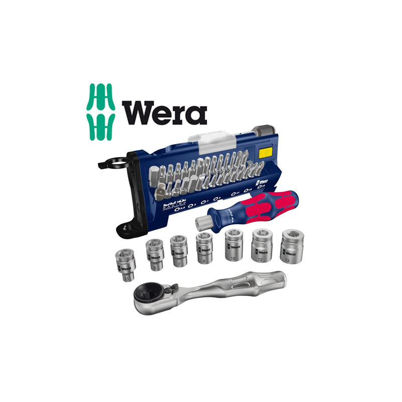 Wera 056294 Mini-Check Torx Insert Bit Set