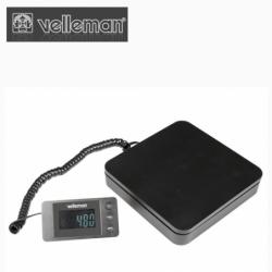 Цифрова везна с портативен дисплей, до 40 кг., деление 5 гр. / Velleman VTBAL29 /