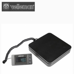 Postal scale with external,...