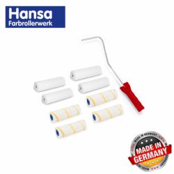Комплект от 10 ролки и ръкохватка 11 части / Hansa 997016 /