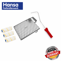 Комплект бояджийски валяк с цедка 5 части / Hansa 997012 /