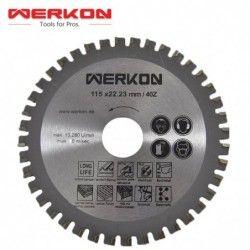 Multipurpose Blade 125 x 22.23 mm 40 Z / WERKON 38057 /